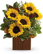 You're Golden Bouquet Box