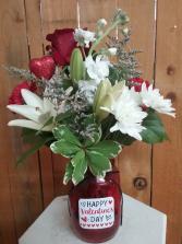 You're in My Heart vase arrangement