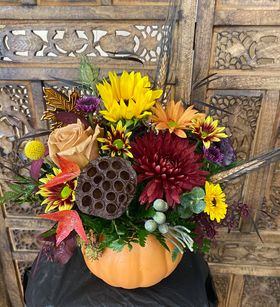 You're my pumpkin bouquet