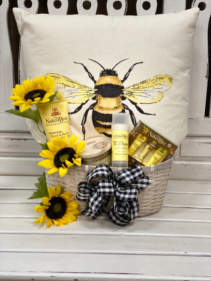 You're My Queen Bee Gift basket