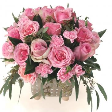 You're My Star (Pink) Container Arrangement