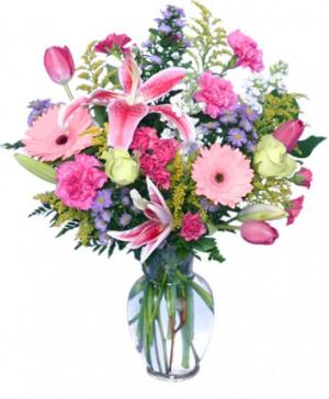 YOU'RE ONE IN A MILLION! Fresh Flowers in Lincroft, NJ | Lincroft FAB Florist & Gifts/Silver Tulip Florist