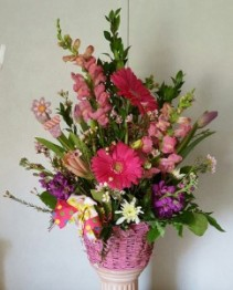 You're Pretty in Pink arrangement