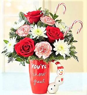 You're Snow Great!!! Sandra Magsamen Keepsake Mug in Gainesville, FL | PRANGE'S FLORIST