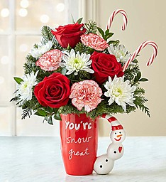 You're Snow Great! Sandra Magsamen Keepsake Mug Sale this week reg. $49.99 in Gainesville, FL | PRANGE'S FLORIST