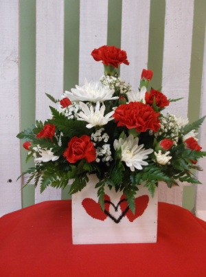 YOU'RE STILL THE ONE ARRANGEMENT in Springfield, VT | WOODBURY FLORIST