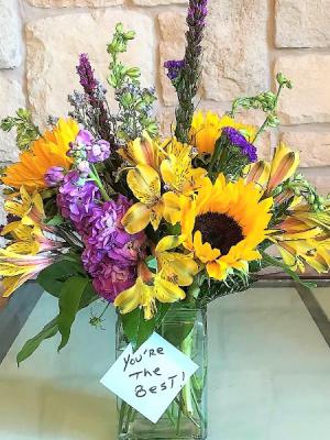 YOU'RE THE BEST  in Buda, TX   Budaful Flowers