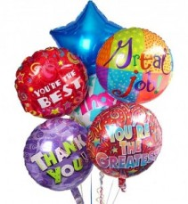 """""""You're the Best"""" Balloon Bouquet"""
