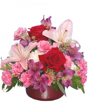 YOU'RE THE ONE FOR ME! Floral Bouquet in Lincroft, NJ | Lincroft FAB Florist & Gifts/Silver Tulip Florist
