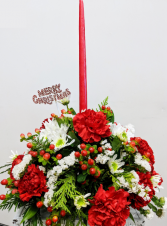 Yuletide Glow Table Centerpiece