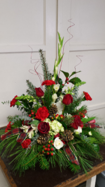 Yuletide Greetings Arrangement