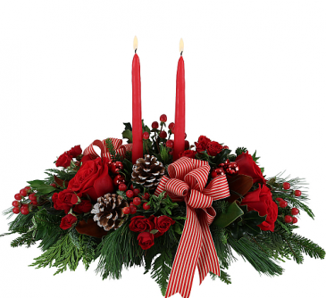 Yuletide Magic Christmas Arrangement