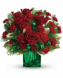 Yuletide Spirit Bouquet Fresh Arrangement