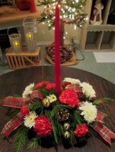 Yuletide Traditions an Inspirations Original Design in Lock Haven, PA | INSPIRATIONS FLORAL STUDIO