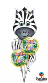 Zany Zebra and friends balloons