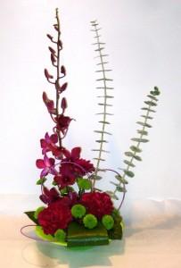 ZEN GARDEN Floral Arrangement in Parksville, BC | BLOSSOMS 'N SUCH