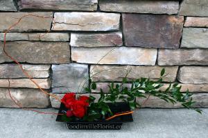 Zen Roses Contemporary Rose Arrangement in Woodinville, WA | Woodinville Florist®