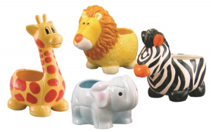Zoo Ceramic Planters* Fine Gifts in Whitesboro, NY | KOWALSKI FLOWERS INC.