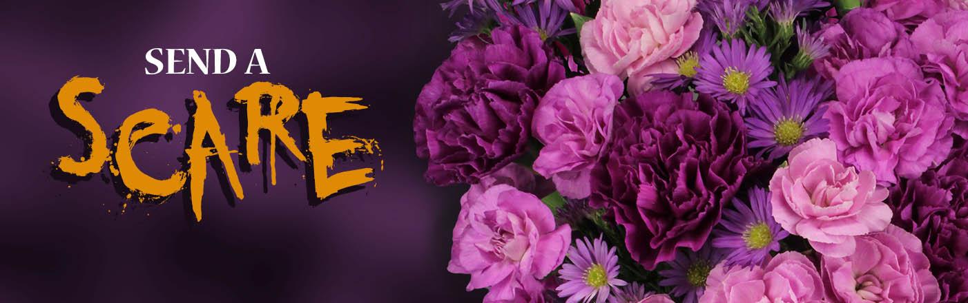 Send fun Halloween flowers today!
