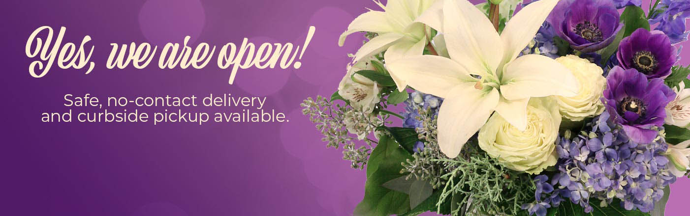 Our flowers can be there for you.