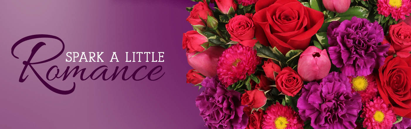 Send Romantic Flowers Today!