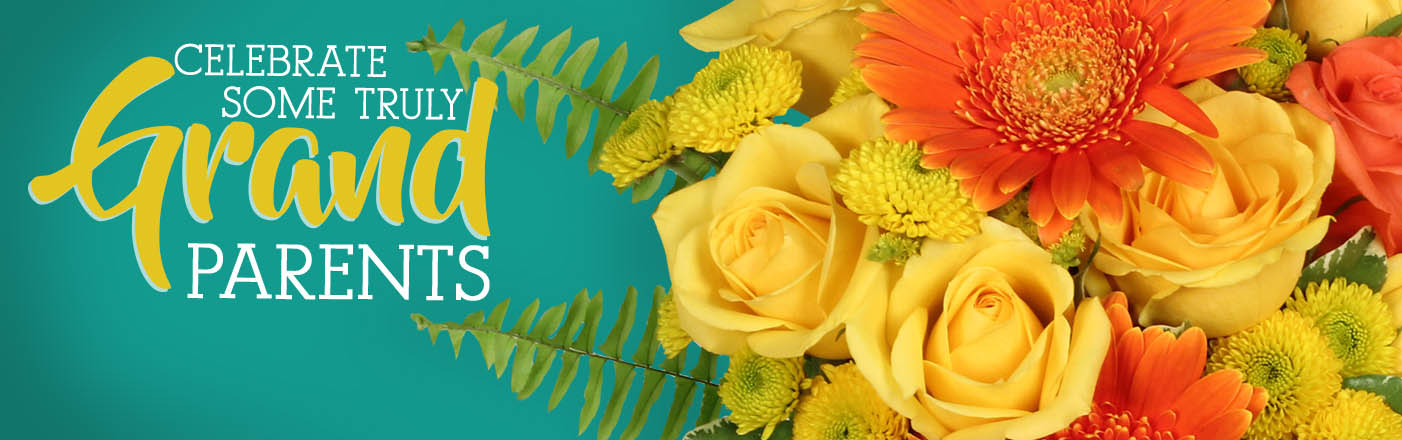 Send flowers for Grandparent's Day today!