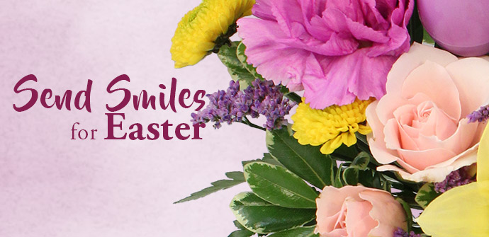 Shop Easter Flowers Now!